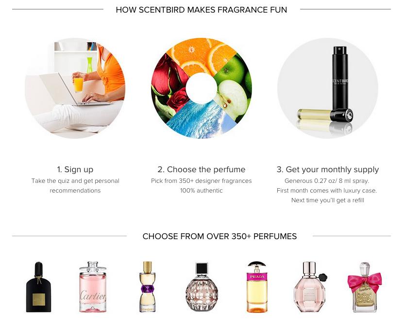 Scentbird Perfume Subscription