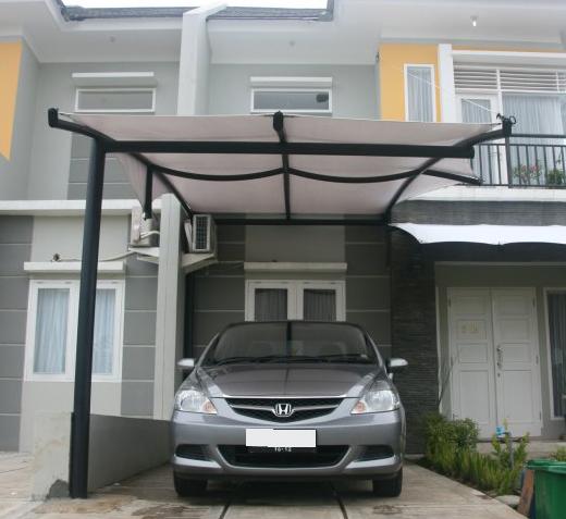 kanopi baja ringan yang unik 10 model untuk garasi rumah inspirasi terbaik