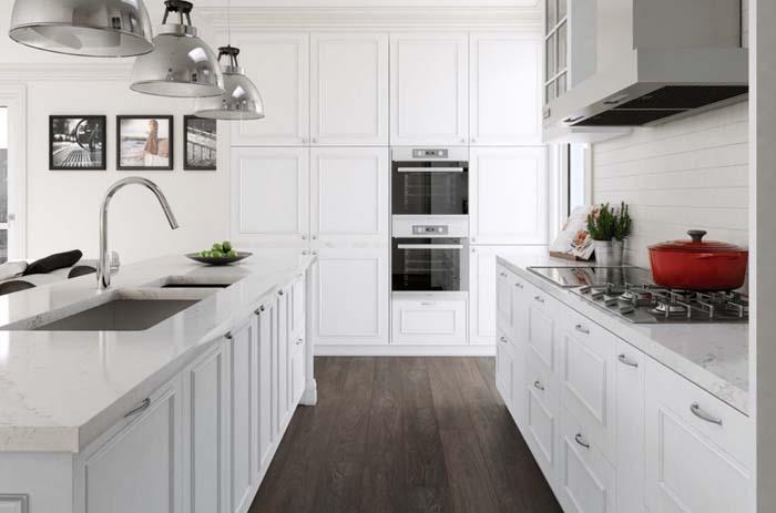 beyaz mutfak dolap modelleri