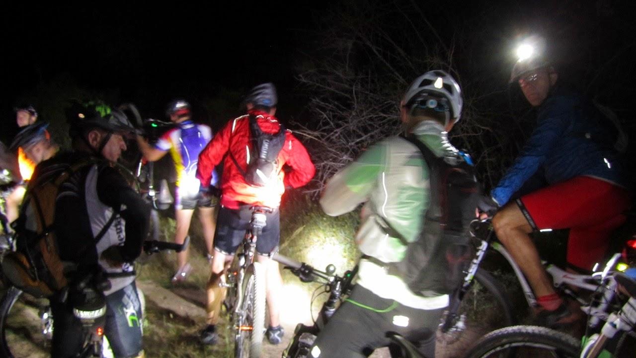 V Ruta MTB Nocturna 2014 Alfonsoyamigos