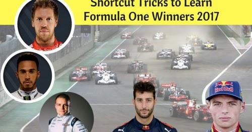 Shortcut Tricks To Learn Formula One Winners 2017 Bank border=
