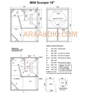 Skema Mini Scooper 18 lapangan glerr