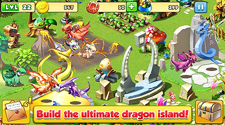 Raise and breed them to create fantastic dragons and complete your collection Dragon Mania MOD Apk [Unlimited Money, Offline] v4.0.0 Full & Free