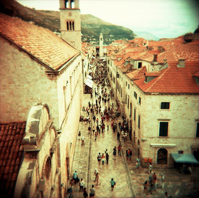 Placa, Dubrovnik, Croatia