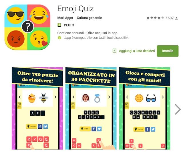 Soluzioni Emoji Quiz | Versione Logo con Smile e ?