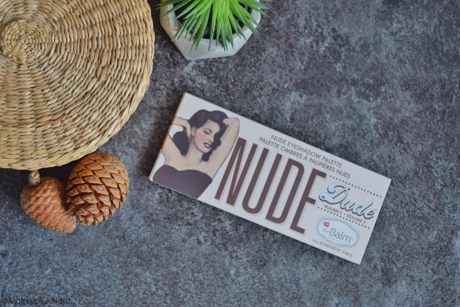The Balm Nude dude paleta sjenila