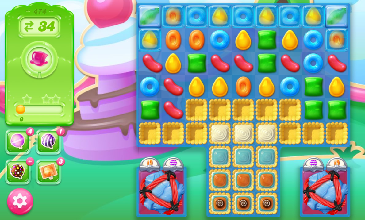Candy Crush Jelly Saga 474