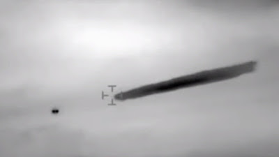 Un fotogramma del filmato dell'UFO ripreso in Cile nel 2014