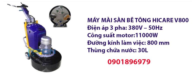 MÁY MÀI SÀN BÊ TÔNG HICARE V800