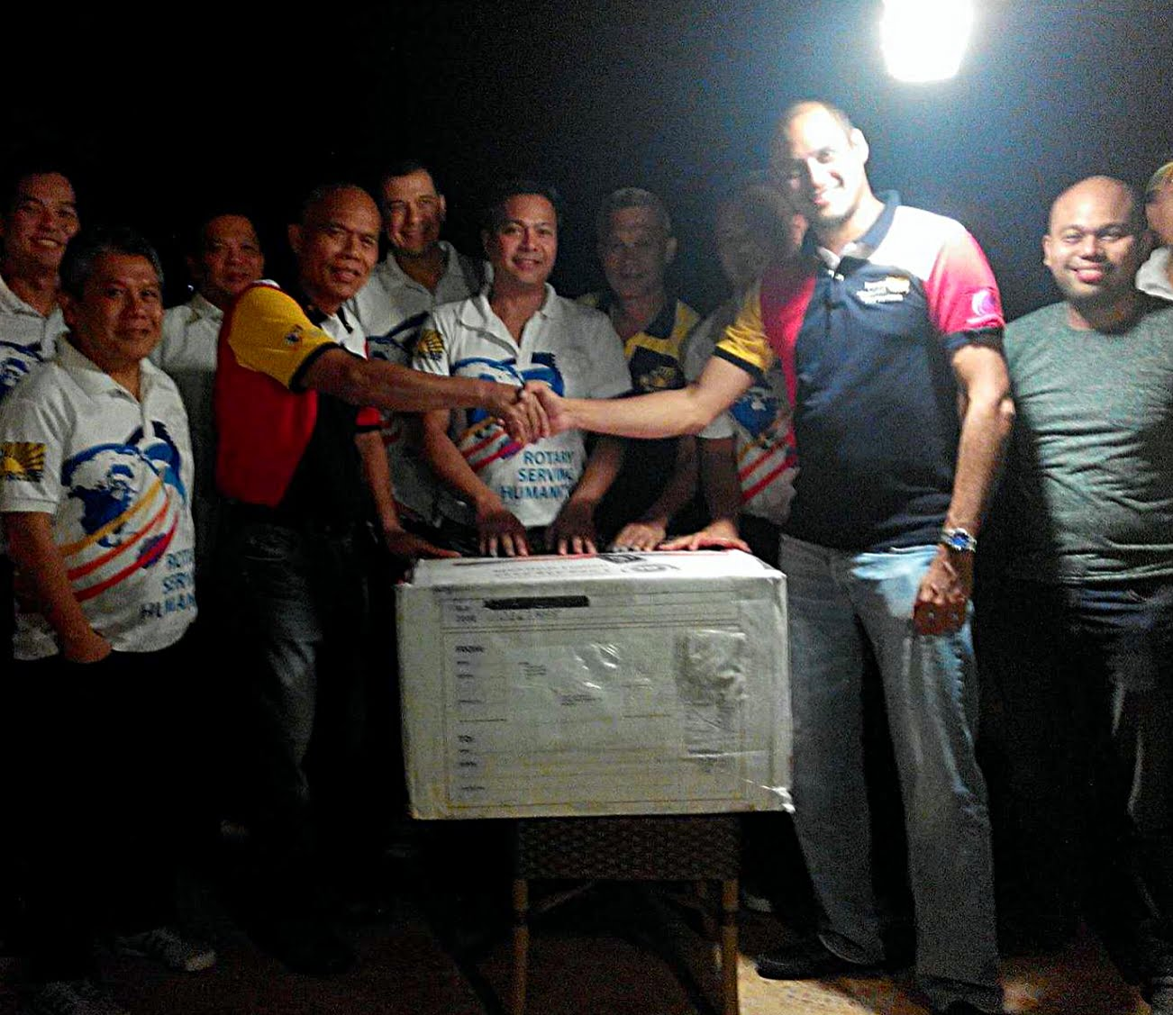 Philippine Rotary For Humanity receives 53 boxes of book donations