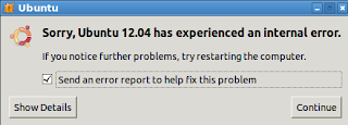 Ubuntu 12.04, Lubuntu 12.04, Kubuntu 12.04 and Xubuntu 12.04 has experience internal error