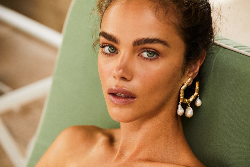 Christie Nicolaides Villa Vera Jewelry campaign