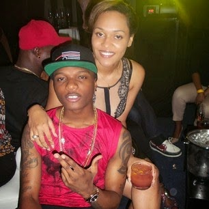 Photo: Wizkid Steps Out with On/Off Girlfriend Tania