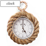 Know your ropes wall clock by Layla Grace