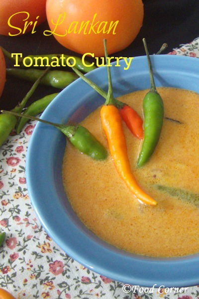 Sri Lankan Tomato Curry