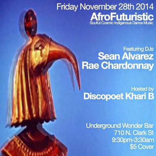 Friday 11/28: AfroFuturistic @Underground Wonder Bar