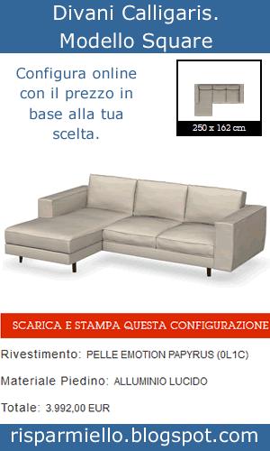 Risparmiello divani calligaris prezzi e opinioni catalogo for Divani divani catalogo prezzi