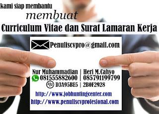 Jasa Pembuatan Curriculum Vitae (CV)