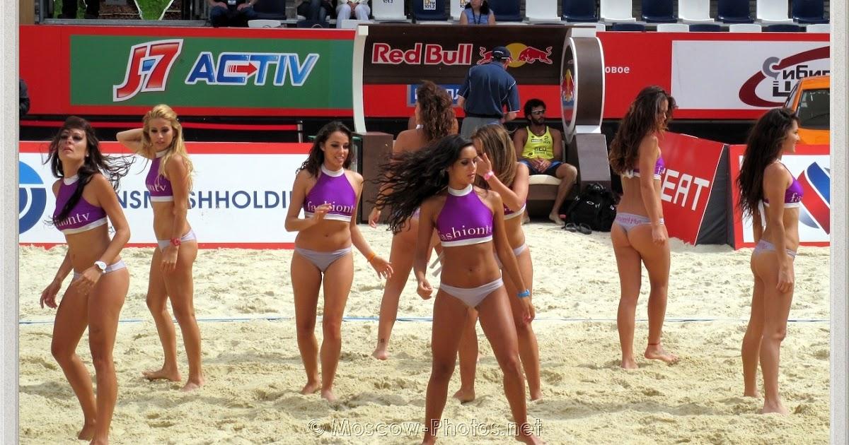 Beach Volleyball Bikini Cheerleaders 61 pics -