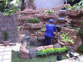 tukang taman murah,tanaman hias,tanaman pelindung,kolam hias koi,kolam hias air terjun batu alam