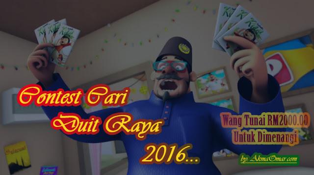 Contest Cari Duit Raya 2016 - Akma Omar