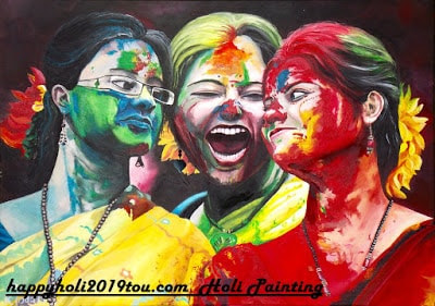 Limited Edition Happy Holi 2019 Painting Free