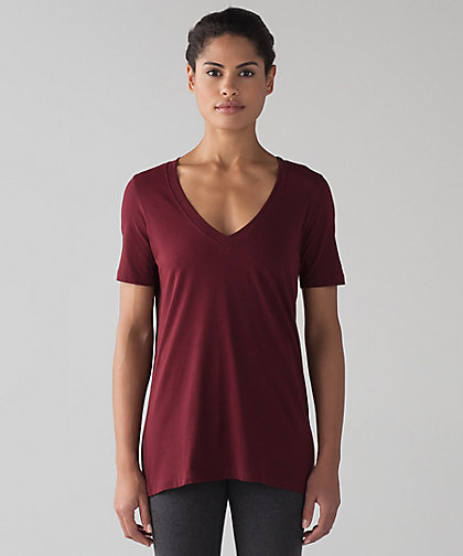 lululemon deep-rouge-love-tee