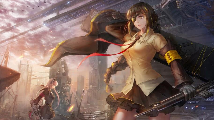 Anime, Girls Frontline, M16A1, 4K, #6.1098