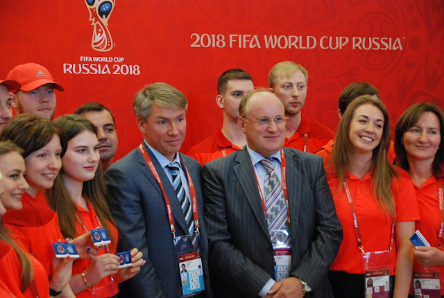 Russia Volunteers FIFA 2018