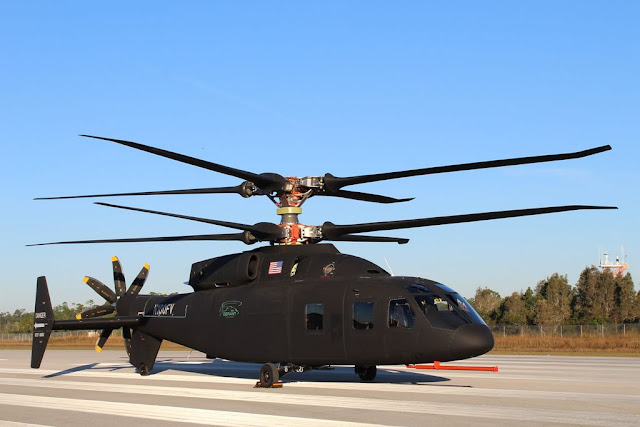 Sikorsky Boeing unveil Defiant helicopter
