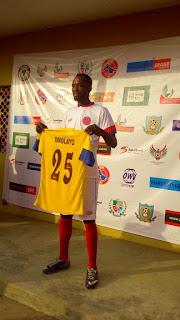 Emotional Omolayo Won't Celebrate Goal Against Tornadoes