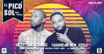 El PICO SOL Festival 2017 con Hety and Zambo