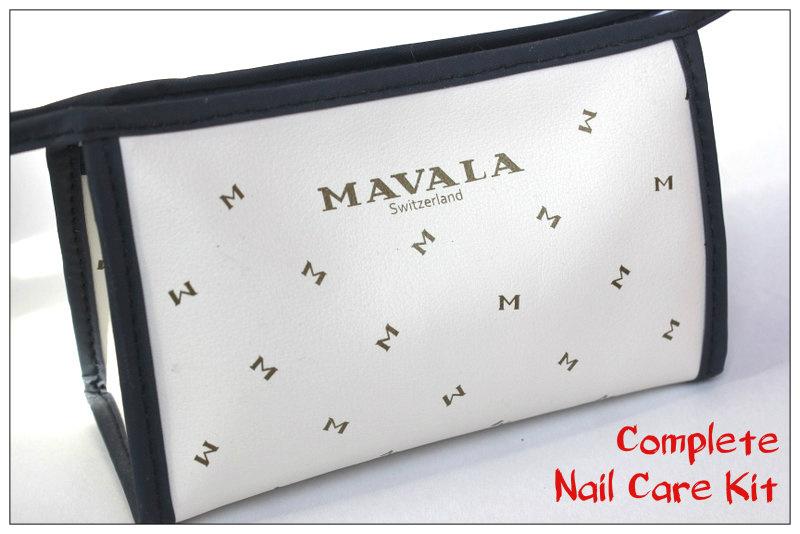 Обзор: Полный комплект для ухода за ногтями - Mavala Complete Nail Care Kit.