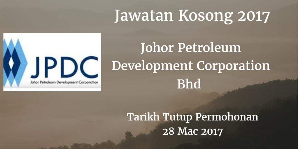 Jawatan Kosong JPDC 28 Mac 2017