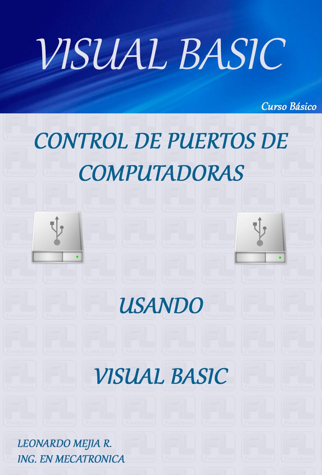 Control de Puertos Paralelos con Visual Basic