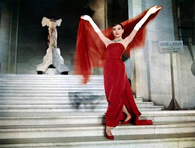 Одри Хепбёрн в платье от Юбера де Живанши. «Забавная мордашка»1957