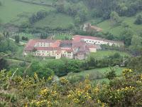 Samostan Valdedios camino de Santiago Norte Sjeverni put sv. Jakov slike psihoputologija
