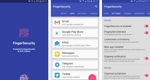 aplikasi sidik jari terbaik di hp android