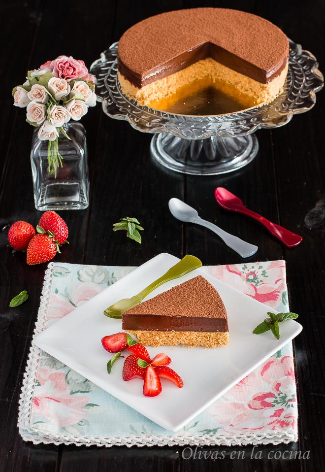 Tarta de chocolate explosiva - Heston Blumenthal