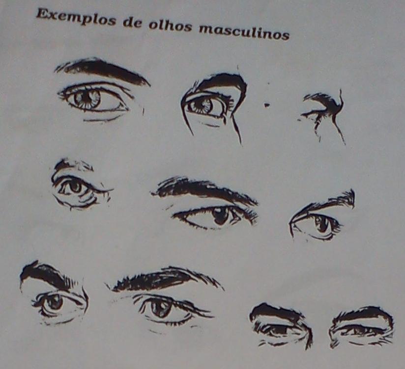 Redesenhando Exemplos De Desenhos De Olhos