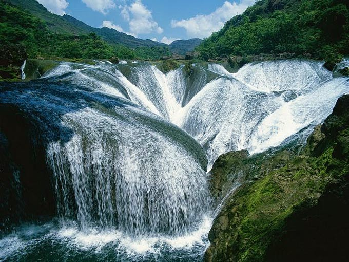 The Pearl Waterfall, Jiuzhaigou Valley, China