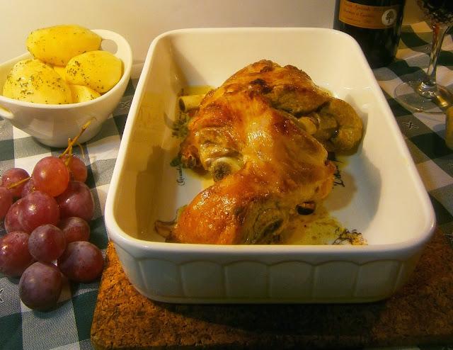 Cordero al horno tradicional, receta de Martin Berasategui