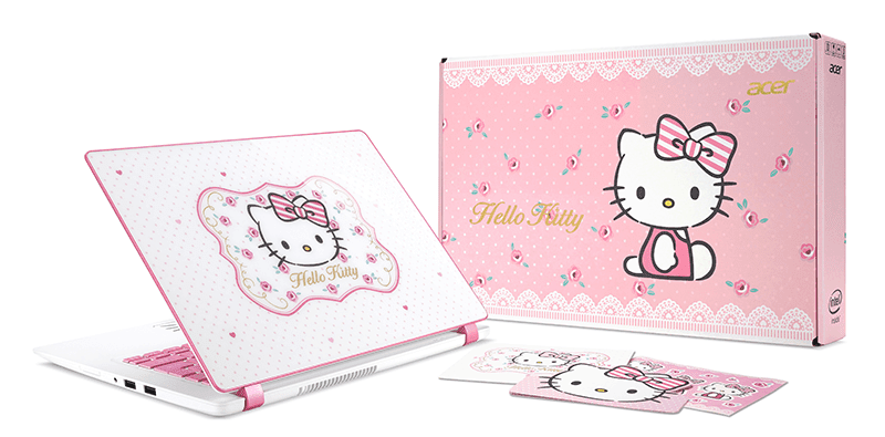 Acer Launches Limited Edition Hello Kitty Laptop In PH!