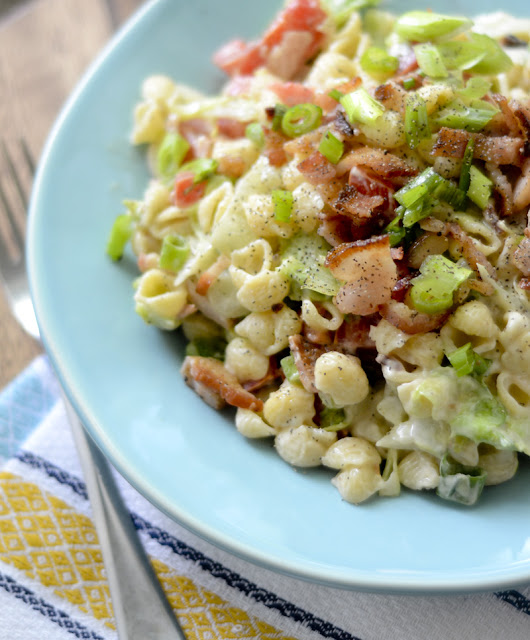 4sp - WEIGHT WATCHER'S BLT PASTA SALAD