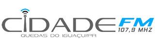 Rádio Cidade FM 107,9 de Quedas do Iguaçu PR