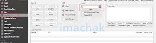 device setting in clover configurator for audio layout id