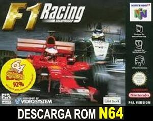 F1 Racing Championship N64 Rom Espanol Nintendo 64 Descargar