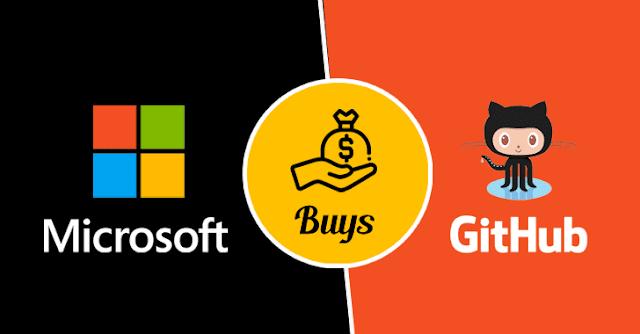مايكروسوفت تشترى أضخم موقع لمطوري GITHUB البرامج بمبلغ 7.5 مليار دولار