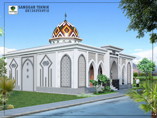 masjid minimalis modern 2017 jasa desain murah
