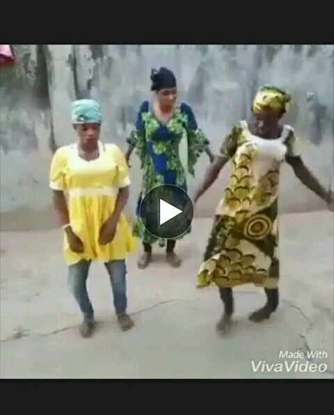 Funny video fake girls dancing